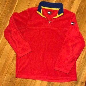🔥Vintage Men's Tommy Hilfiger Fleece jacket